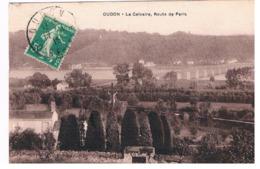 CPA OUDON Le Calvaire Route De Paris - Oudon