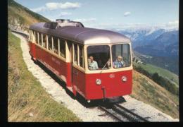 MG, Rack Rail - Car Bhm 2/4 N° 3 In September 1980 - Trains