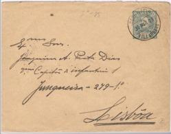 Portugal, 1909, Subscrito Vili Arouco-Lisboa - Lettres & Documents