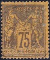 France  .   Yvert   .     99        .     O          .       Oblitéré - 1876-1898 Sage (Type II)