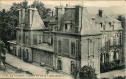 """CPA - FIRMINY (ENV.) - CHATEAU HOLTZER  VUE DE LA """"MONTAGNE"""" (ETAT PARFAIT) - Firminy"""