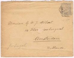 Portugal, 1906, Subscrito Lisboa-Holanda - Lettres & Documents