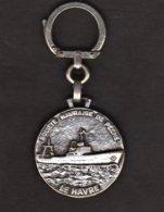 Le Havre - Société Havraise De Pêche - Porte-cles Publicitaire S.H.P. - Bateau. - Autres Collections