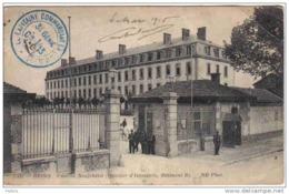Carte Postale Militaria 51. Reims  Caserne Neufchâtel Quartier D'Infanterie  Cachet Militaire Trés Beau Plan Militaire - Reims