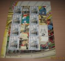 TINTIN - Rocket - Kuifje - The Smurfs /Les Schtroumpfs - BD Cartoons Strips Mnh - +Singapore Shophouses!! RRRR - Bélgica