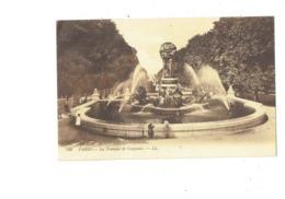 Cpa - 75 - PARIS  FONTAINE CARPEAUX -  TORTUE Turtle N°709 LL - Chevaux Marins - Animation - 1915 - Schildpadden