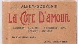 CPA La Côte D'AMOUR (44) Album De 20 Vues Détachables PORNICHET LA BAULE LE POULIGUEN BATZ LE CROISIC - Guérande