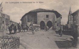 CPA - GUERRE 14-18 - CARTE ALLEMANDE - WESTFRONT - HATTONCHATEL PRÈS ST. MIHIEL (MEUSE) - ATTELAGE - Guerre 1914-18