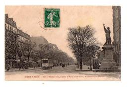 Tout Paris Statue Jeanne D'arc Bd St Marcel - Arrondissement: 13
