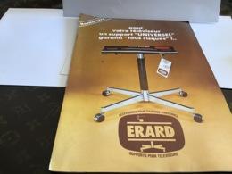 Pont De Cheruy Erard  Accessoires Pour Fixation D'antenne Support Pour Téléviseur Modèle 1978 - Advertising