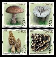 Armenia (Nagorno-Karabakh) 2019 Mih. 193/96 Flora. Mushrooms MNH ** - Armenia