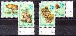 Swaziland Serie Completa N ºYvert 460/63 ** SETAS (MUSHROOMS) - Swaziland (1968-...)