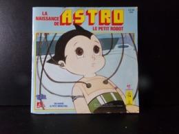 """Livre Disque """" La Naissance De Astro Le Petit Robot """" - Filmmusik"""