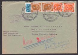 Dickschied über Bad Schwalbach Mit NO-Steuermarke MiNr. 126, 4 Bzw. 6 Pf. Posthorn SoSt. Heilkraft In Moor Und Stahl, - BRD