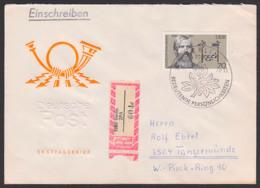 Albrecht Von Graefe, Augenarzt Augenheilkunde DDR FDC 2342, Portogenau R-Brief Bedeutende Persönlichkeiten - FDC: Briefe