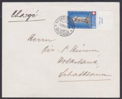 La Croix-Rouge Helvetia Schweiz Pro Patrria 1940 30+10 R., MiNr. 367 Letzttagsentwertung - Schweiz