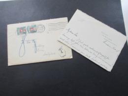GB 1923 Brief Von London Nach Berne Schweiz Abgestempelt Ohne Marken Und Nachporto 80. 2x Schweiz Nachportomarken - 1902-1951 (Könige)
