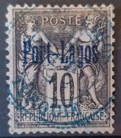 PORT LAGOS 1893 - Canceled - YT 2 - 10c - Usados