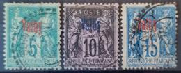 VATHY 1893-1900 - Canceled - YT 1, 4, 6 - 5c 10c 15c - Vathy (1893-1914)