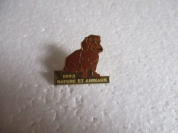 Pin's Animalier Nature Et Animaux 1993 - Chien. - Animaux