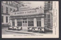 "CPA 78 - VERSAILLES, 9 Rue Colbert, Restaurant  "" Au Rocher De CANCALE "" - Versailles"