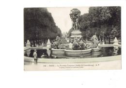 Cpa - 75 - PARIS  FONTAINE CARPEAUX -  TORTUE Turtle N°248 A.P - Chevaux Marins - Animation - 1928 - Schildpadden