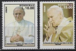 Honduras (2005) Yv. Av. 1204/05 /  Pope - Papa - John Paul II - Juan Pablo - Popes