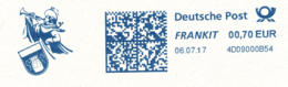 Freistempel 8599 Trompeter Von Säckingen Musik - Marcofilia - EMA ( Maquina De Huellas A Franquear)