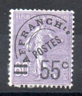 FRANCE - YT Préo N° 47 - Cote: 70,00 € - Préoblitérés
