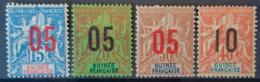 GUINÉE FRANCAISE - MLH - YT 50, 51, 52, 53 - Nuevos