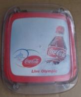 M#0V38 PORTACENERE LIVE OLYMPIC COCA COLA VINTAGE/OLIMPIADI - Portaceneri