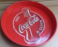 M#0V39 VASSOIO IN LATTA VINTAGE VIVI IL GUSTO COCA COLA - Coca-Cola