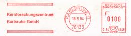 Freistempel 8673 Kernforschungszentrum Karlsruhe - [7] Federal Republic