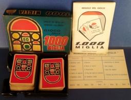M#0V54 CARTE DA GIOCO - EDMOND DUJARDIN GIOCO DELLA 1000 MIGLIA/ AUTOMOBILISMO - Playing Cards (classic)