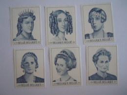België Belgique 2001 Dynastie 6 Reines Koninginnen Timbres 2971-2976 Du BL89 Yv Bloc 85 MNH ** - Neufs