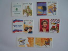 België Belgique 2001 Belgica  500 Jaar Europese Post Expo Ans De Poste Européenene 2996-3000 MNH ** - Belgien