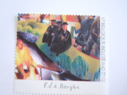 België Belgique 2001 Frits Van Den Berghe Zondag Dimanche Tableau 3006 MNH ** - Belgien