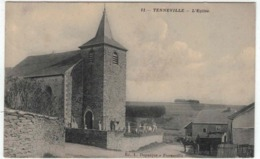 Tenneville - L'Eglise - Ed. Duparque N°11 - Attelage - RARE - Tenneville