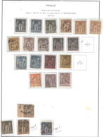 Francia 1877/50 Tipo Sage II° Paece E Commerce Scott.86 See Scans On Album A; - 1876-1898 Sage (Tipo II)