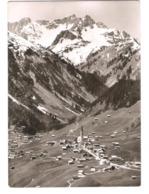 Österreich - Mittelberg Im Kleinwalsertal - Berghotel Alpenrose - Vorarlberg - Alte Ortsansicht - Nachporto - Stamps - Kleinwalsertal
