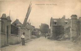 RARE POMMIERS RUE DE PASLY - Francia
