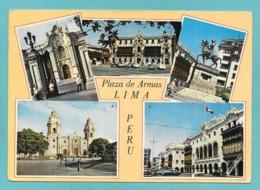 PERU' LIMA PLAZA DE ARMAS 1973 - Perù