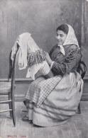 MALTA, 1900-1910's; Lace Worker - Malta