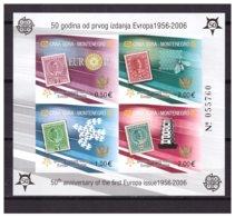 0902 Montenegro 2006 Europa Europe CEPT S/S MNH Imperf - 2006