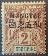 MONGTZE 1903/06 - MLH - YT 2 - 2c - Neufs