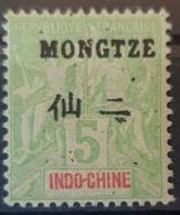 MONGTZE 1903/06 - MLH - YT 4 - 5c - Mong-tzeu (1906-1922)
