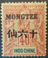MONGTZE 1903/06 - MLH - YT 11 - 40c - Neufs