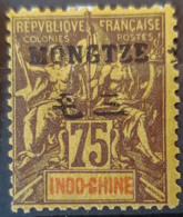 MONGTZE 1903/06 - MLH - YT 14 - 75c - Nuovi