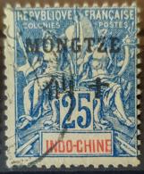 MONGTZE 1903/06 - Canceled - YT 8 - 25c - Mong-tzeu (1906-1922)