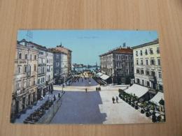 CP 104 / ITALIE / FIURNE PIAZZA DANTE / CARTE VOYAGEE - Andere